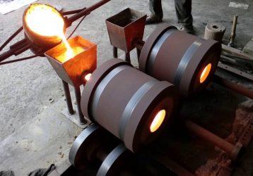 Центробежное литье алюминия