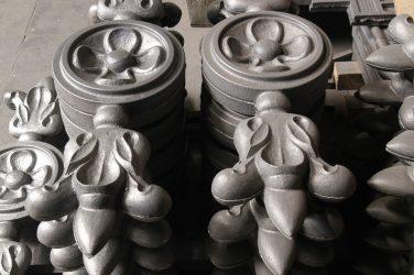 Окончательная обработка художественной отливки из чугуна